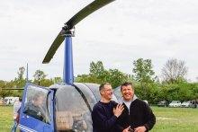 Hélicoptère RAVEN R44 -avec-JLuc-et-Romuald