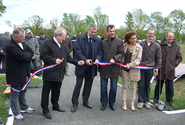 Inauguration nouvelle piste