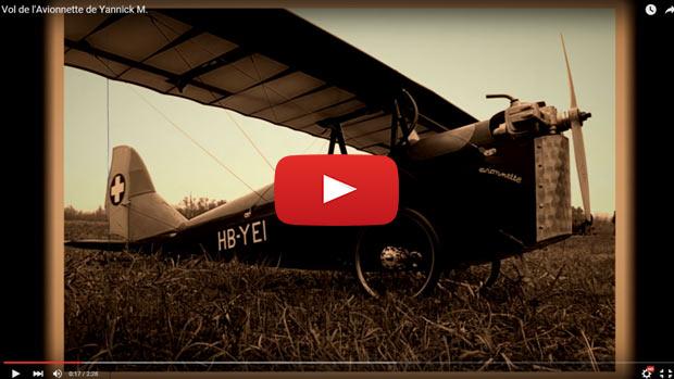 vol de l'Avionnette de Yannick M.